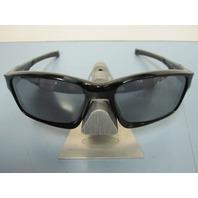 OAKLEY mens Chainlink sunglass Polished Black/Black Iridium OO9247-01 NEW in Box