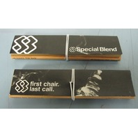 SPECIAL BLEND first chair last call promotional rolling papers New Old Stock
