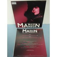 "Marilyn Manson 2009 Arma-godd**n-motherf**kin-geddon  PROMO 7"" vinyl NEW"