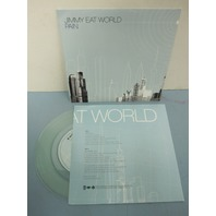 """Jimmy Eat World 2004 Pain/Shame PROMO clear 7"""" vinyl ~NEW never played~!"""