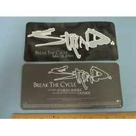 Staind 2001 Break The Cycle Promotional Sticker New Old Stock Flawless Condition