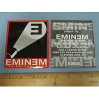 Eminem 2002 The Eminem Show Promotional Sticker New Old Stock Flawless Condition