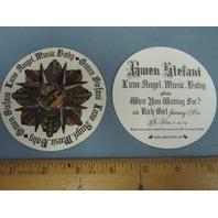 Gwen Stefani 2004 Love Angel Music Promotional Sticker New Old Stock Flawless