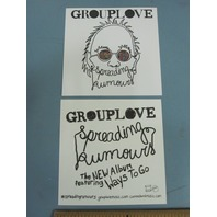 Grouplove 2013 Spreading Rumours Promotional Sticker New Old Stock Flawless
