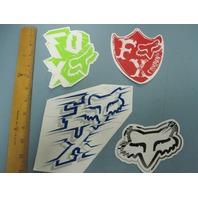 FOX surf snowboard skateboard BMX promo Big 4 sticker set NEW old stock Flawless