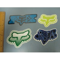FOX snowboard skateboard surf BMX promo Big 4 sticker set NEW old stock Flawless