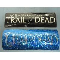 And You Will Know Us By The Trail Of The Dead promotional 2 sticker set New Old