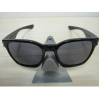 OAKLEY mens Garage Rock Sunglass Polished Black/Grey OO9175-01 New In Box