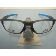 OAKLEY mens Crosslink Trubridge RX Frame Grey Smoke OX8090-0255 New In Box