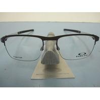 OAKLEY mens Truss Rod 0.5 RX eyeglass frame Pewter OX5123-0252 NEW In Box/Case