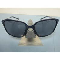 OAKLEY womens Game Changer Sunglass Navy/Chrome/Grey OO9291-07 NEW In Case/Box