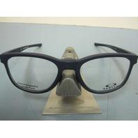 OAKLEY mens RX eyeglass frame Cloverleaf Trubridge Blue OX8102-0352 New In Box
