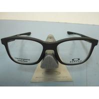 OAKLEY mens RX eyeglass frame Cross Step Trubridge Black OX8106-0150 New Box