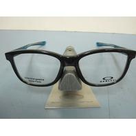 OAKLEY mens RX eyeglass frame Cross Step Trubridge Black OX8106-0252 New In Box