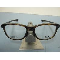 OAKLEY mens RX eyeglass frame Cross Step Trubridge Tortoise OX8106-0452 New Box