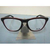 OAKLEY mens RX eyeglass frame Frogskin Eclipse Red OX8131-0154 New In Box