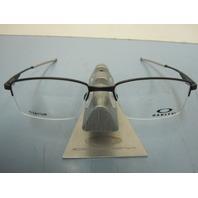 OAKLEY mens RX eyeglass frame Limit Switch 0.5 Black OX5119-0152 New In Case