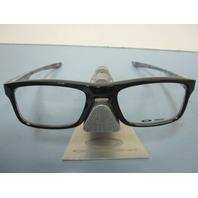 OAKLEY mens RX eyeglass frame Plank 2.0 Black OX8081-0249 New In Box w/Case
