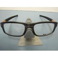 OAKLEY mens Panel RX eyeglass frame Grey Bronze OX3153-0553 New In Box/Case