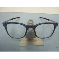 OAKLEY mens RX eyeglass frame Steel Line R Matte Denim OX8103-0349 New In Box