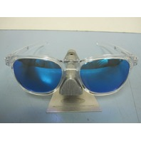 OAKLEY mens Stringer Sunglass Clear/Sapphire Iridium OO9315-06 New In O Baggy