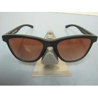 OAKLEY womens MOONLIGHTER sunglass Black/VR50 Gradient OO9320-02 NEW in Baggy