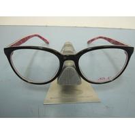 Oakley womens Reversal RX eyeglass frame Breast Cancer Black OX1135--0352 New