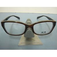 OAKLEY womens JUNKET tortoise sky OX1087-0252 RX eyeglass frame NEW in O Box