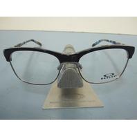 OAKLEY womens Ponder OX1134-0452 Blue Mosaic RX eyeglass frame NEW in O Box