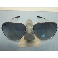 OAKLEY mens ELMONT L sunglass CHROME/GREY POLARIZED OO4119-0460 NEW in bag