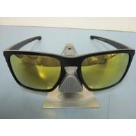 OAKLEY mens SLIVER XL sunglass Matte Black/24K Gold Iridium OO9341-07 New In Bag