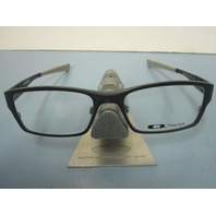 OAKLEY mens GASSER Ti RX eyeglass frame Cool Grey OX5087-0455 NEW In OAKLEY Box