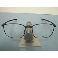 OAKLEY mens RX eyeglass frame TAPROOM matte black OX3204-0255 NEW w/Oakley case