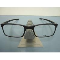 OAKLEY mens RX eyeglass frame MILESTONE 2.0 black OX8047-0152 NEW w/Oakley case