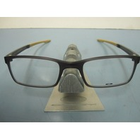 OAKLEY mens RX eyeglass frame MILESTONE 2.0 olive OX8047-0552 NEW w/Oakley case