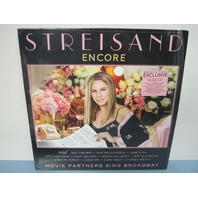 Streisand 2016 Encore: Movie Partners Sing Broadway Colored Vinyl New w/Poster