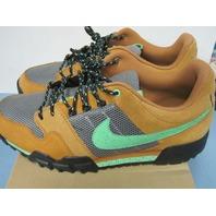 Nike x Stussy Mogan 2 OMS Premium Ginger Poison Green Sz 11.5 Worn Once In Box