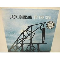 "Jack Johnson 2010 To The Sea 13 Track 12"" LP Vinyl MP3 New Sealed"