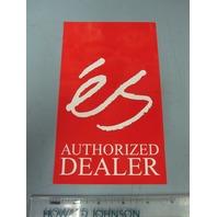 ES skateboard Vintage 2002 authorized dealer shop Big sticker New Old Stock