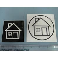 The Neighbourhood 2012/13 promotional sticker set Mint New Old Stock Flawless