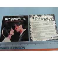 My Chemical Romance. 2006 promotional sticker New Old Stock Flawless Condition