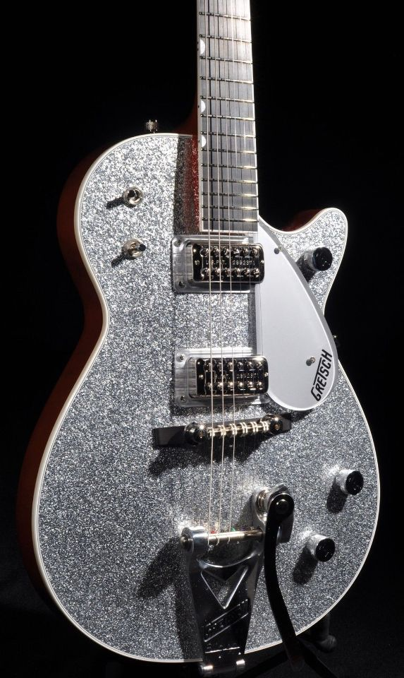 Tv Jones Pickups >> GRETSCH G6129T SILVER JET GUITAR BRAND NEW HARDSHELL ...