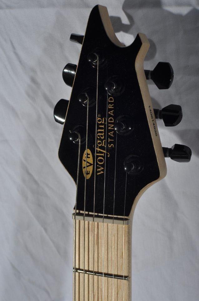 evh wolfgang standard t hardtail black maple neck electric guitar streetsoundsnyc. Black Bedroom Furniture Sets. Home Design Ideas