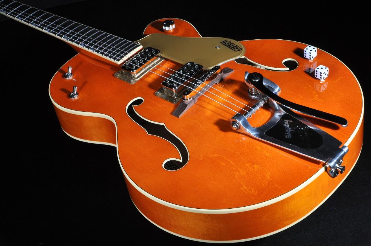 gretsch g6120sslvo nv vo lq brian setzer nashville electric guitar w hardshell case. Black Bedroom Furniture Sets. Home Design Ideas
