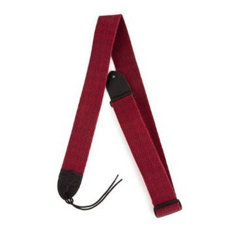 Fender Guitar Strap >> Fender 2 Inch Tweed Cotton Style Guitar Strap Red Black New