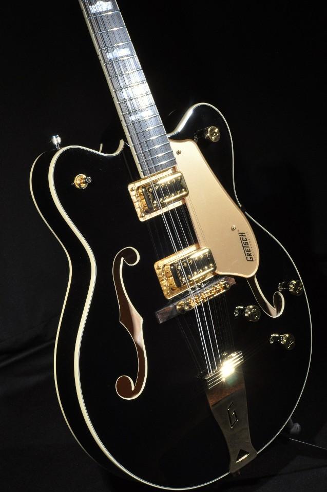 gretsch g5422g 12 black w gold hardware 12 string electric hollow body guitar streetsoundsnyc. Black Bedroom Furniture Sets. Home Design Ideas