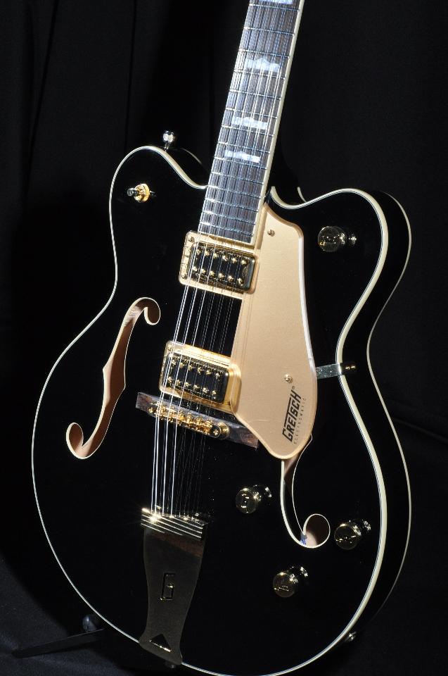 Gretsch G5422G-12 Black W/Gold Hardware 12 String Electric Hollow ...