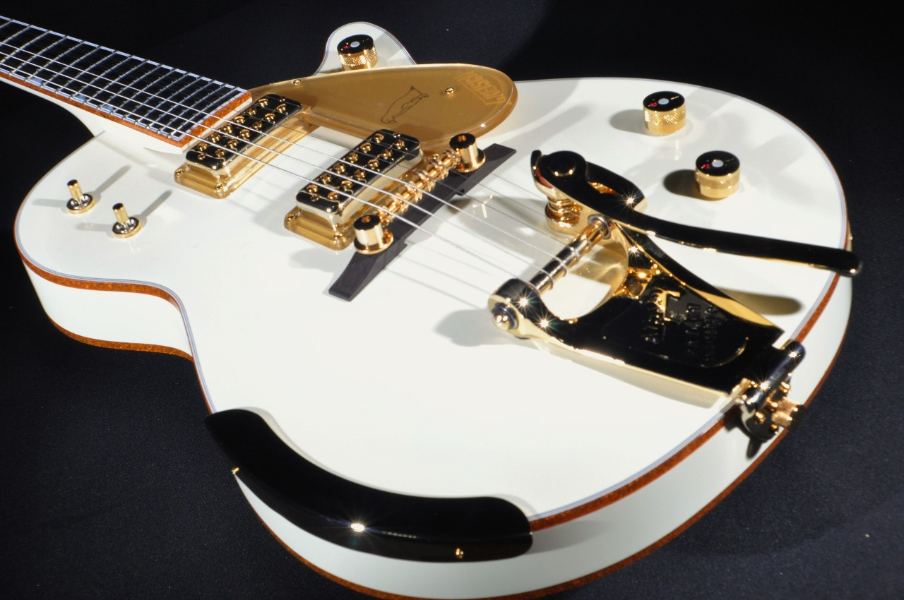 Gretsch G6134T-58VS Vintage Select White Penguin Guitar With Bigsby |  StreetSoundsNYC
