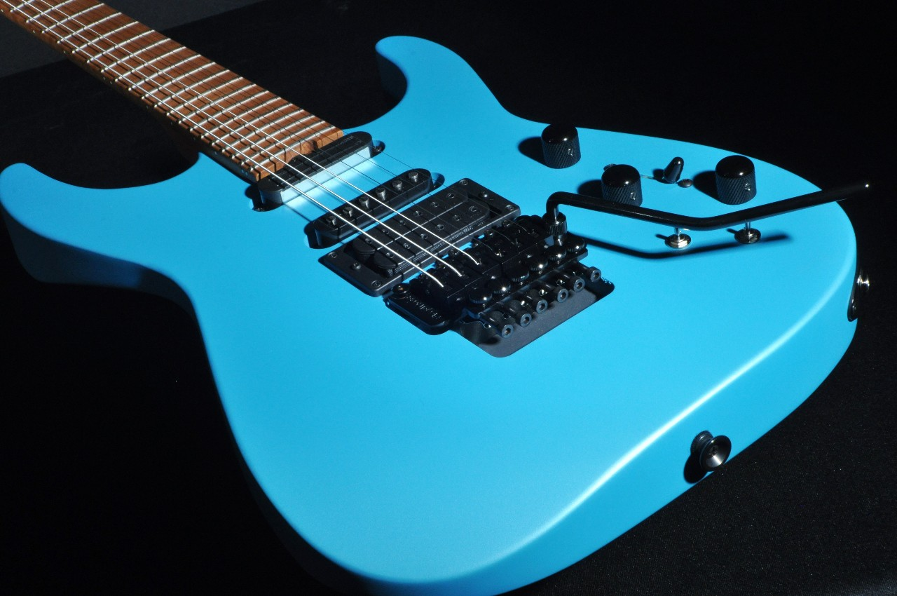Tv Jones Pickups >> Jackson USA PC1 Phil Collen Signature Guitar Matte Blue ...