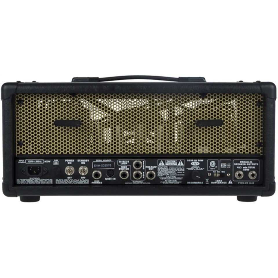 2e9fb4f2e94 ... EVH 5150 III 50W EL34 Tube Amplifier Head W  Footswitch ...